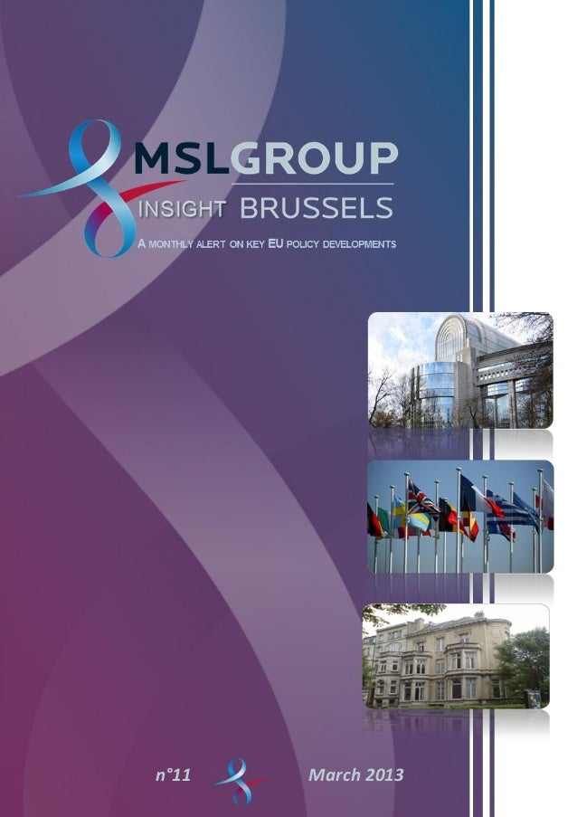   Insight Brussels   0n°11   March 2013