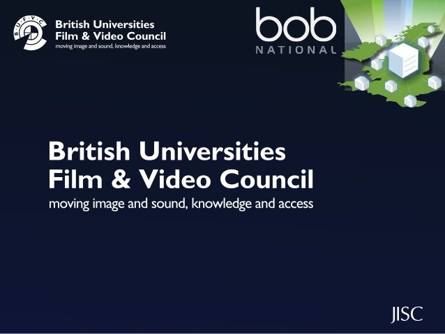 Insight into using digital media with BUFVC