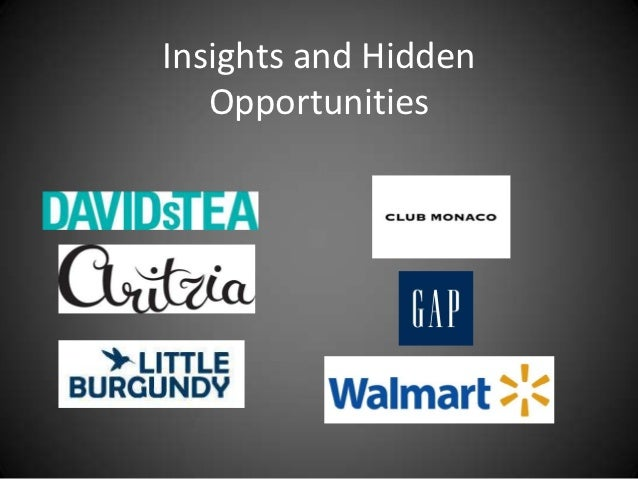 Insights and Hidden   Opportunities