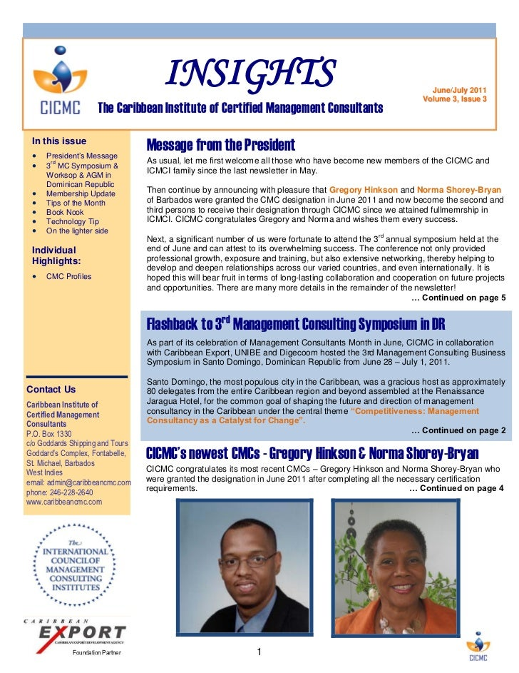 Insights Newsletter July 2011