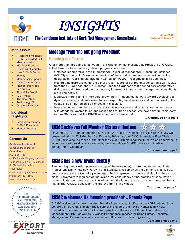 Insights Newsletter June 2010
