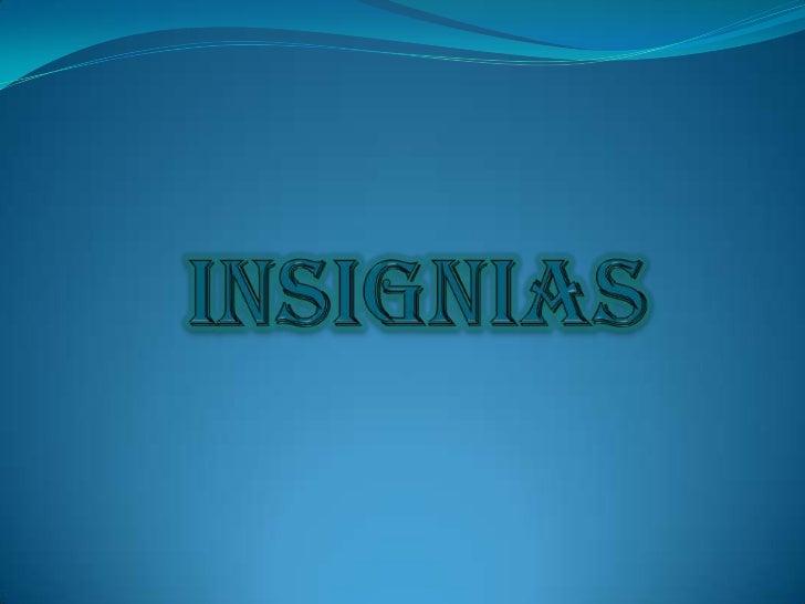 insignias<br />