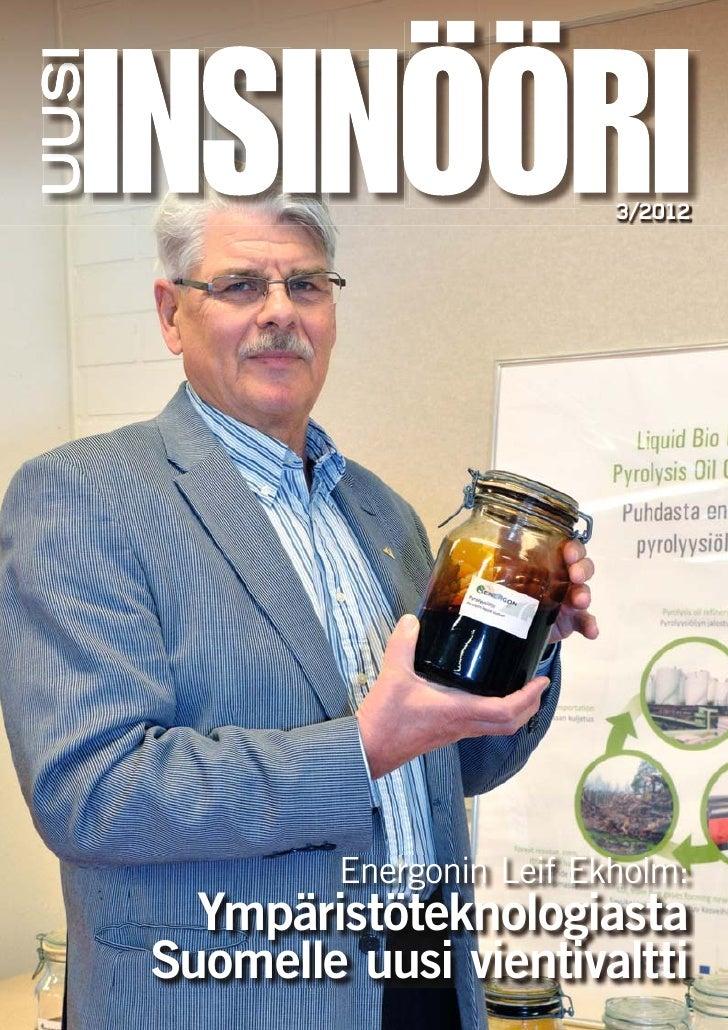 3/2012                          3/2012                           / 0         Energonin Leif Ekholm:  Ympäristöteknologiast...