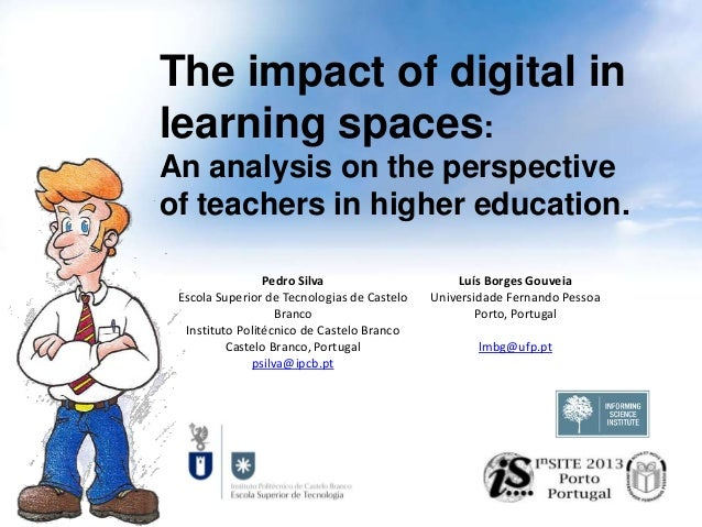 The impact of digital in learning spaces