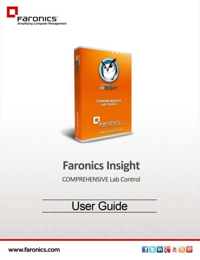 Faronics Insight User Guide |1