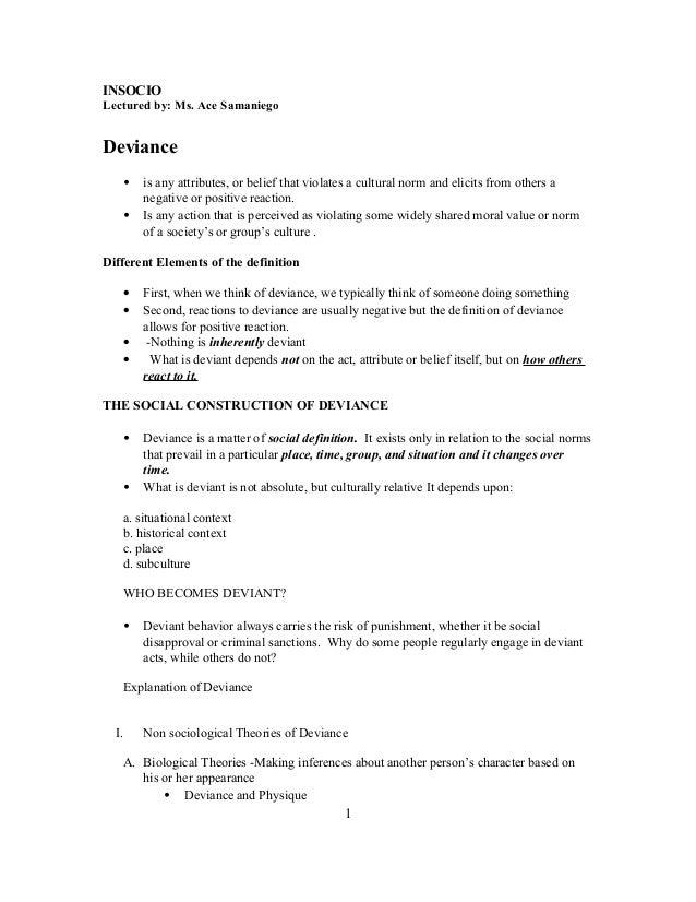Insocio lecture 6 deviance