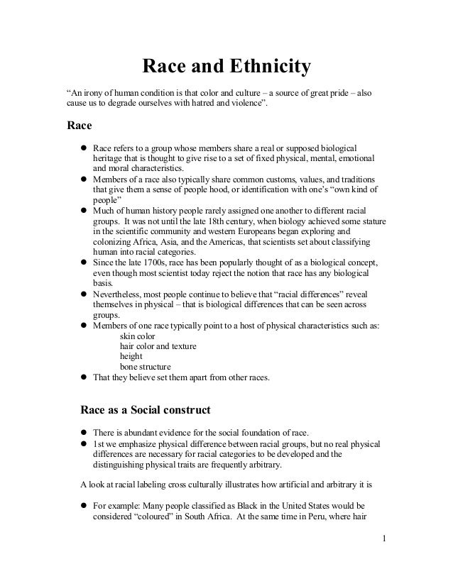 Insocio lecture 9 race and ethnicity