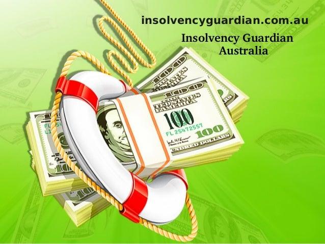 Insolvency guardian australia