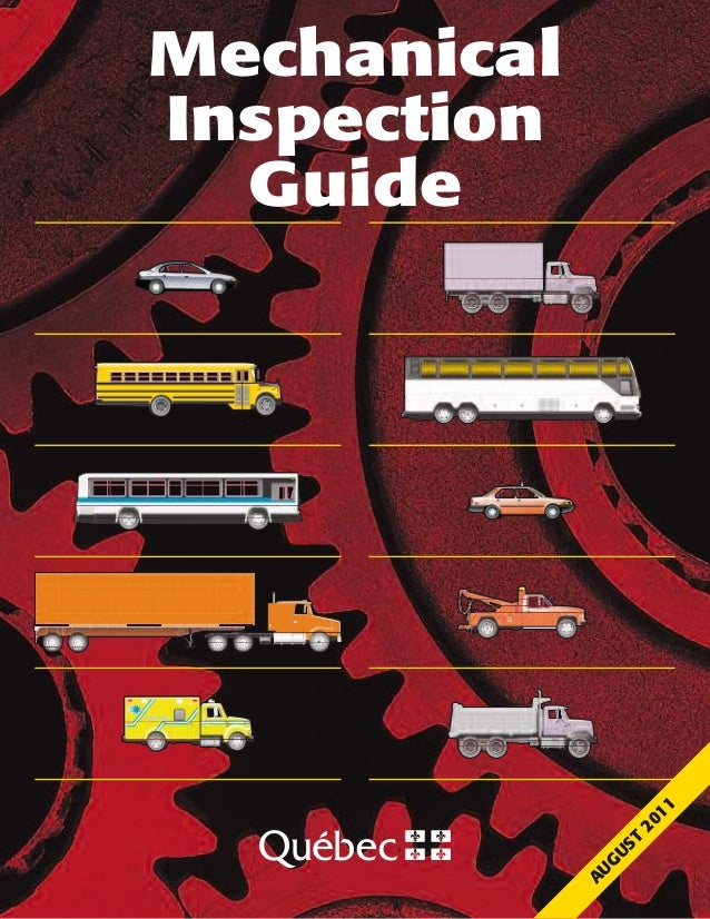 MechanicalInspectionGuideAUGUST2011