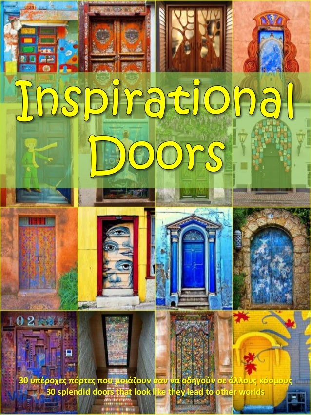 Inspirational Doors (PowerPoint)