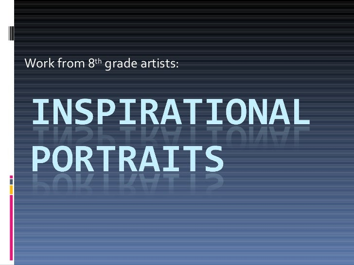 Inspirational portraits