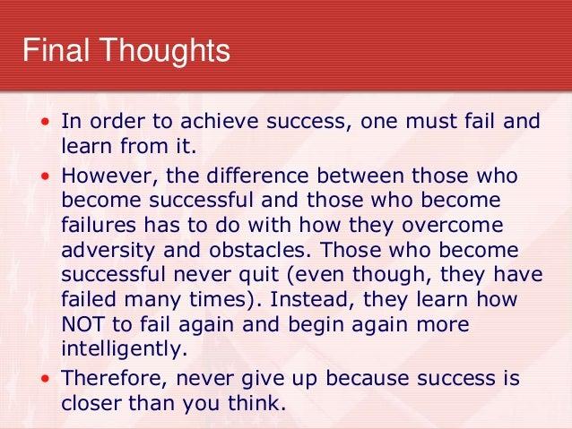 Stories inspirational success