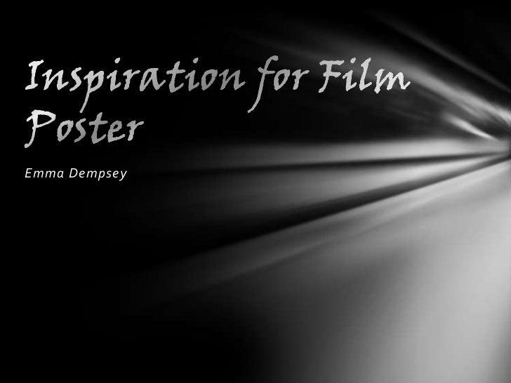 Inspiration for film poster