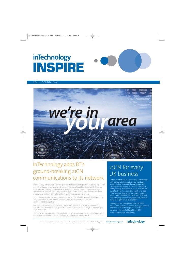 InTechnology InSpire Newsletter - Issue 5