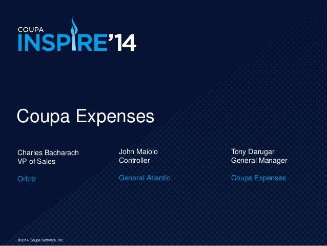 Inspire expenses-2014