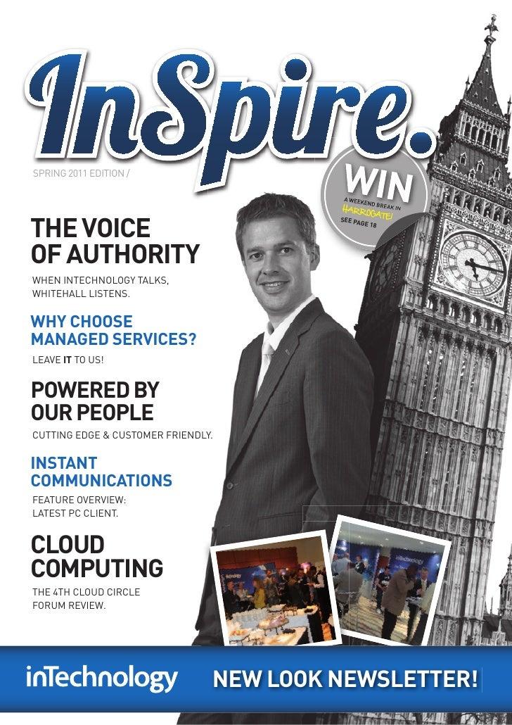 InSpire Newsletter - Spring 2011