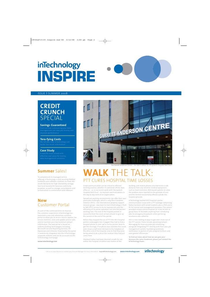 InTechnology InSpire Newsletter - Issue 3