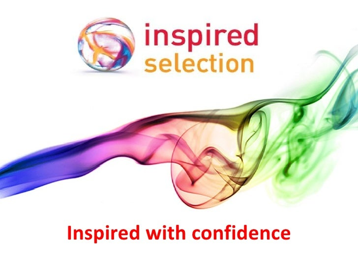 Inspired Selection Powerpoint