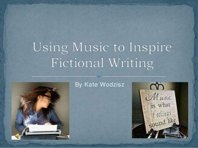 Inspired writing slideshow