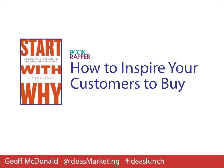 Inspire Your Customers To Buy