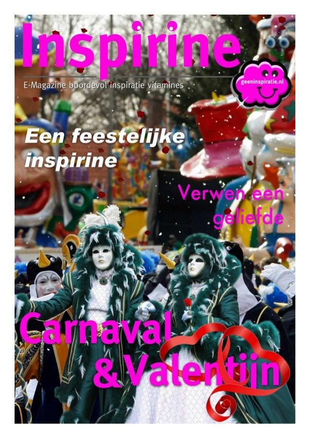 Geeninspiratie - Inspirine E-Magazine - Februari 2013