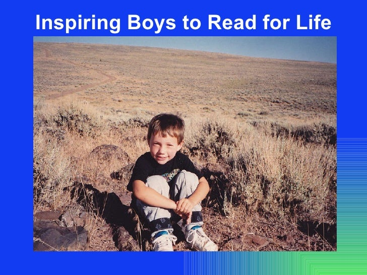 Inspiring Boys to Read for Life
