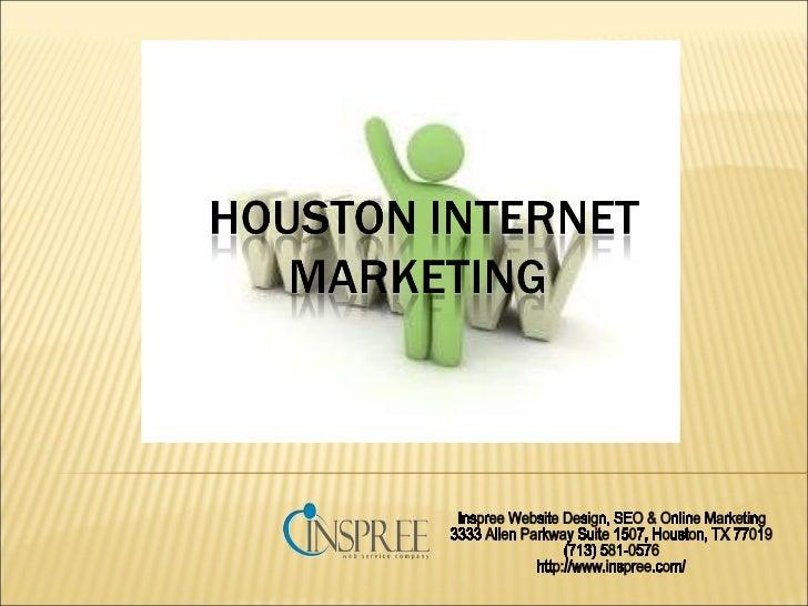 Inspree Website Design, SEO & Online Marketing 3333 Allen Parkway Suite 1507, Houston, TX 77019 (713) 581-0576 http://www....