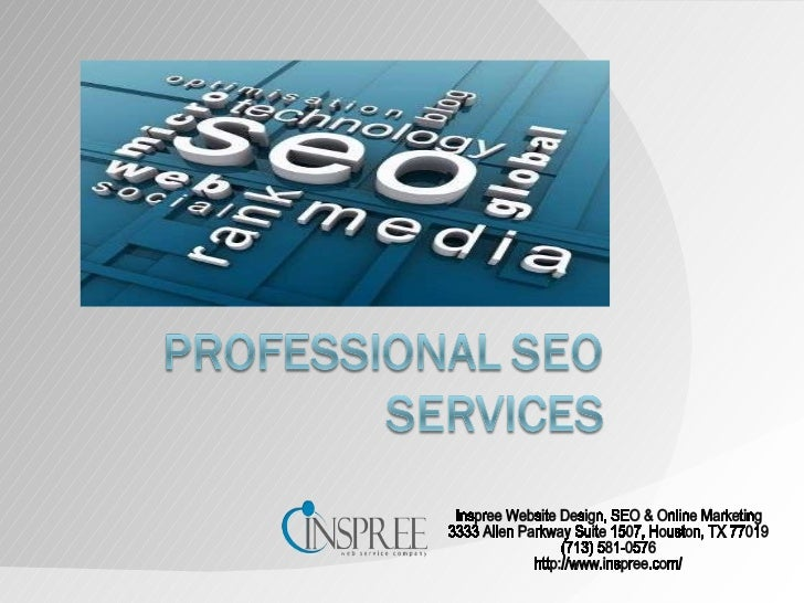 Inspree Website Design, SEO & Online Marketing 3333 Allen Parkway Suite 1507, Houston, TX 77019 (713) 581-0576 http://www....