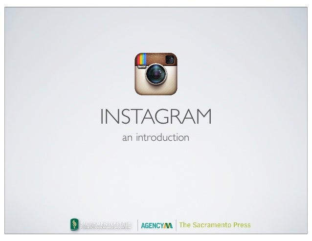 INSTAGRAM an introduction