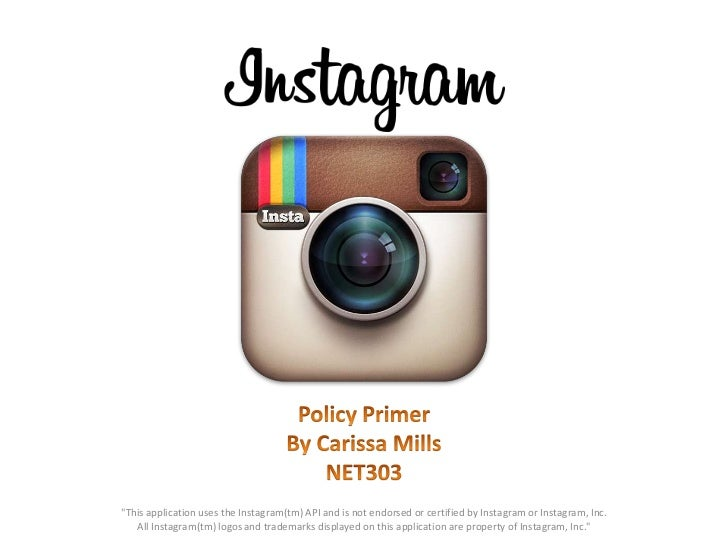 Instagram Policy Primer