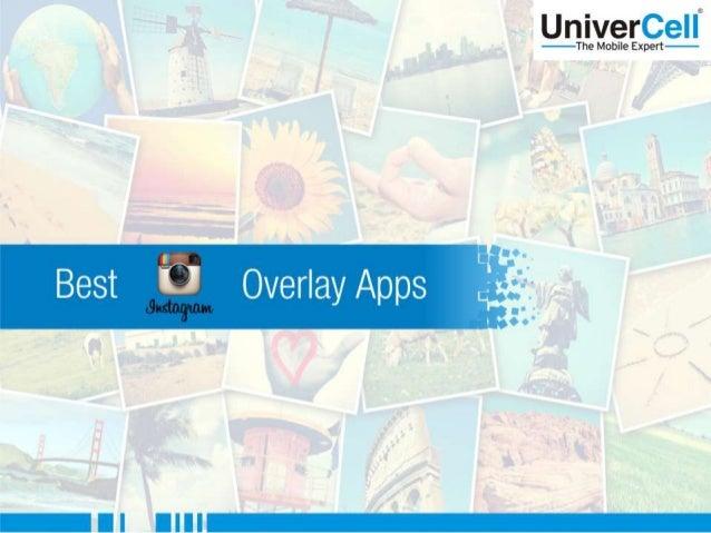 Best Instagram Overlay App