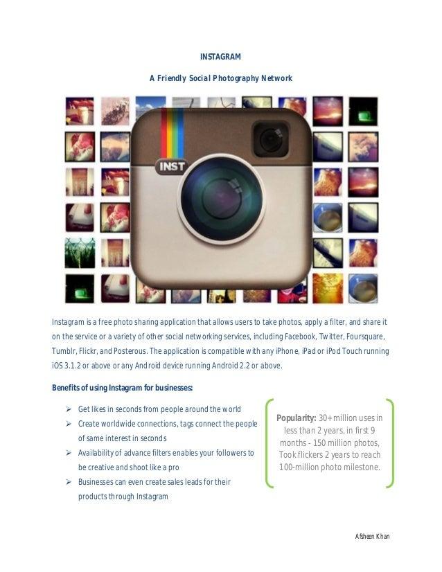 Instagram social media marketing prespective