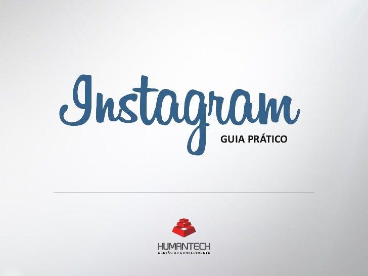 Instagram - Guia Prático