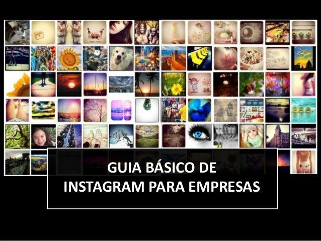 Guia básico de Instagram para empresas