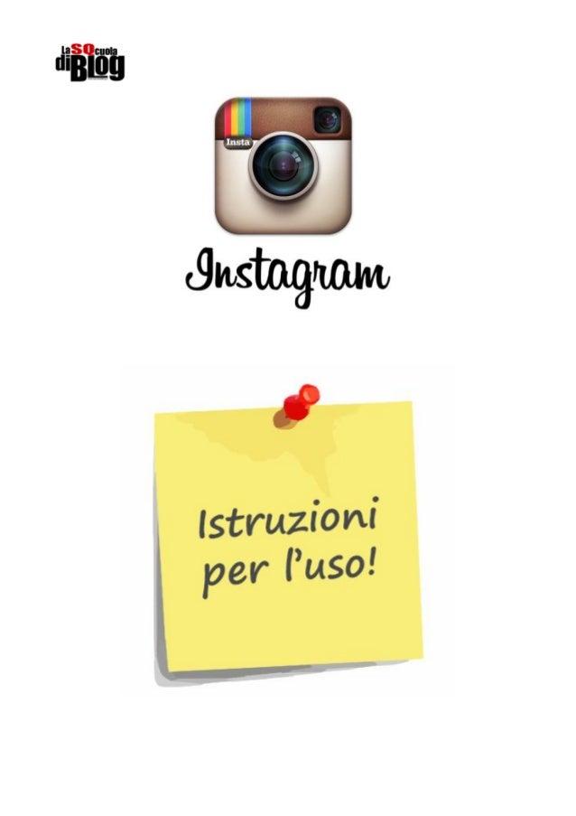 Instagram - Come usarlo per #Legambiente #5xchi