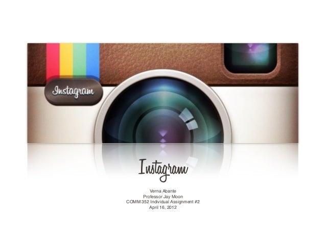 Instagram Powerpoint