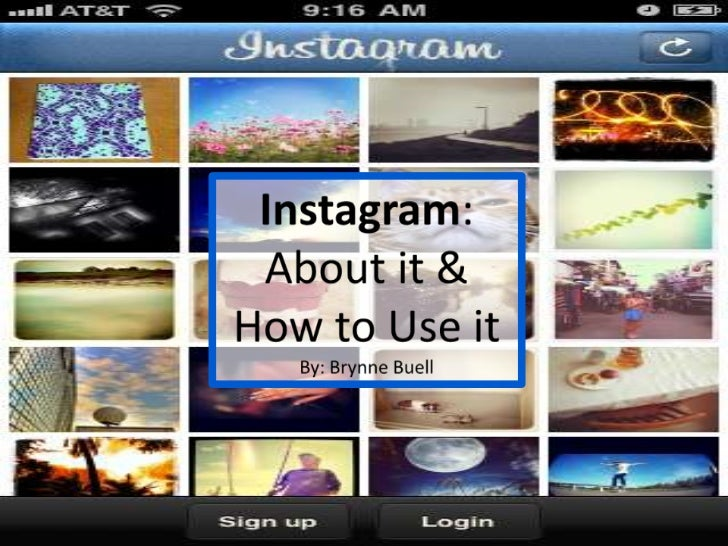 """About Instagram""""It's a fast, beautiful and fun way to share your life with   friends through a series of pictures. Snap a ..."""