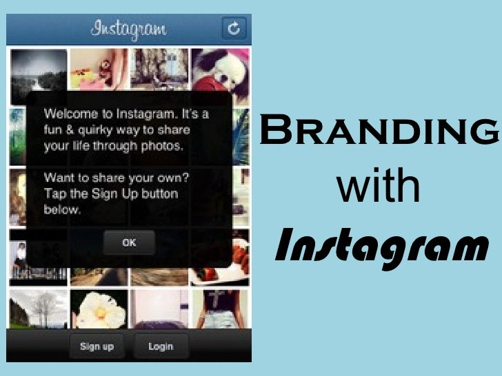 Branding   withInstagram
