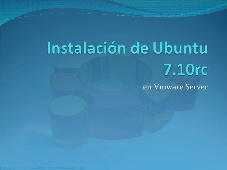 en Vmware Server