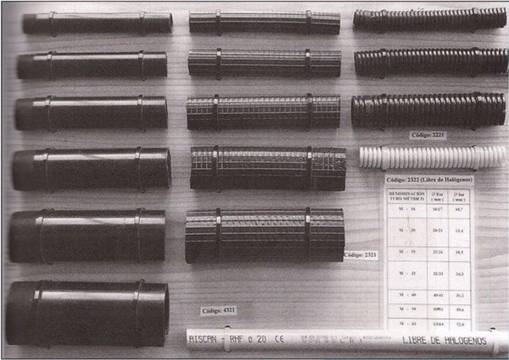 Instalaci n el ctrica semivisible con tubos de pvc - Instalacion electrica superficie ...