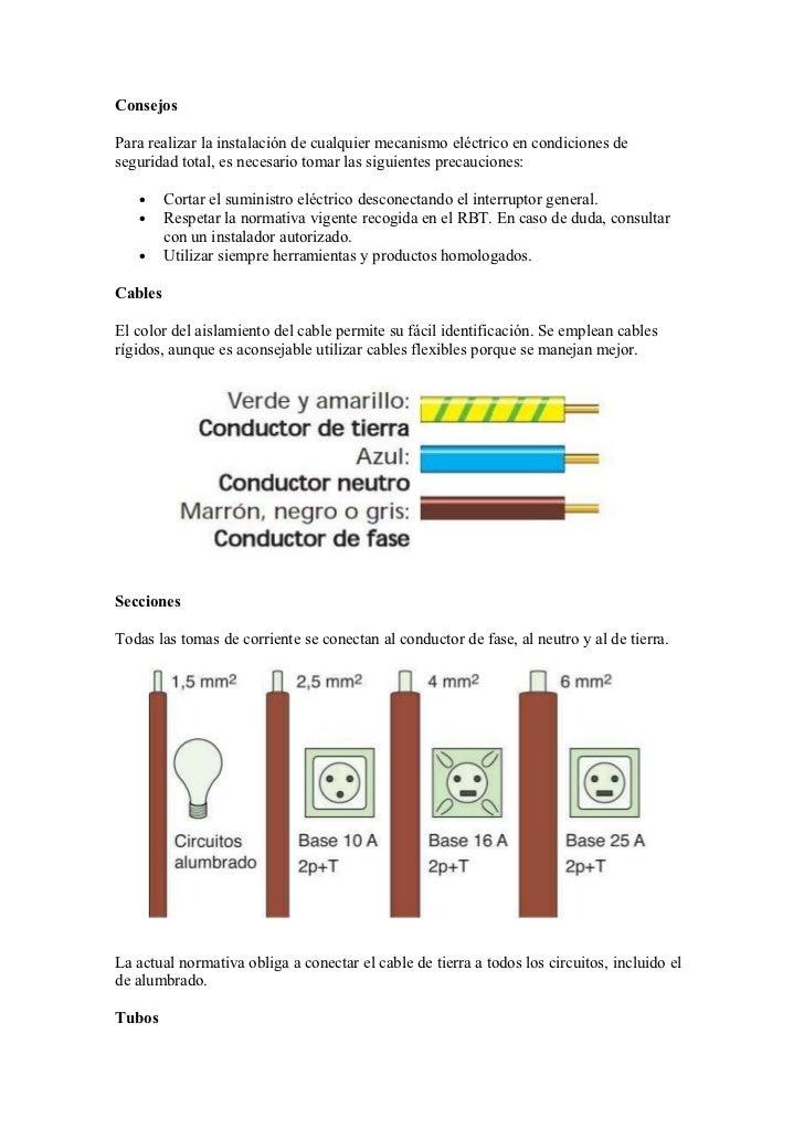 instalacion electrica basica: