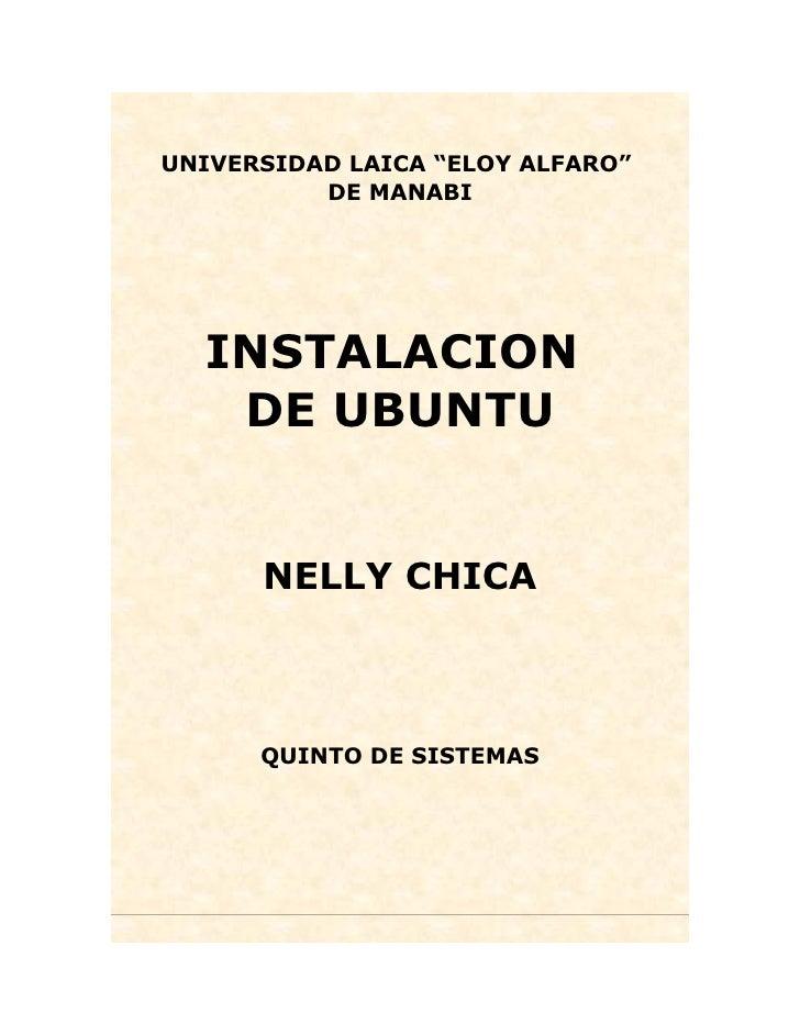 Instalacion Ubunto 2