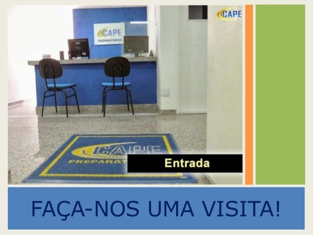 FAÇA-NOS UMA VISITA!