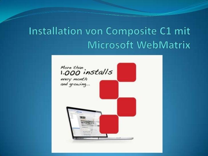 Am 29.09.2010, ist das .NET CMS Composite C1 in der Version 2.0 unter der Mozilla PublicLicense als Open-Source veröffentl...