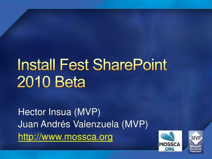 InstallFest SharePoint 2010 en Chile