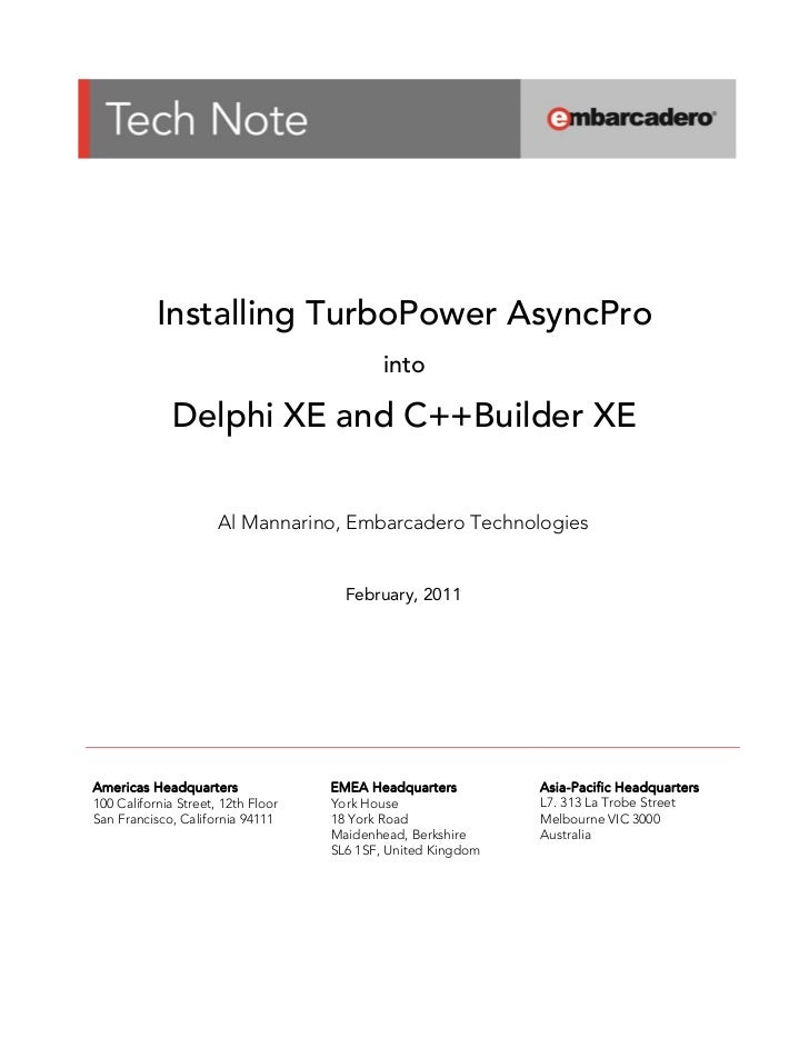 Installing TurboPower AsyncPro                      ...