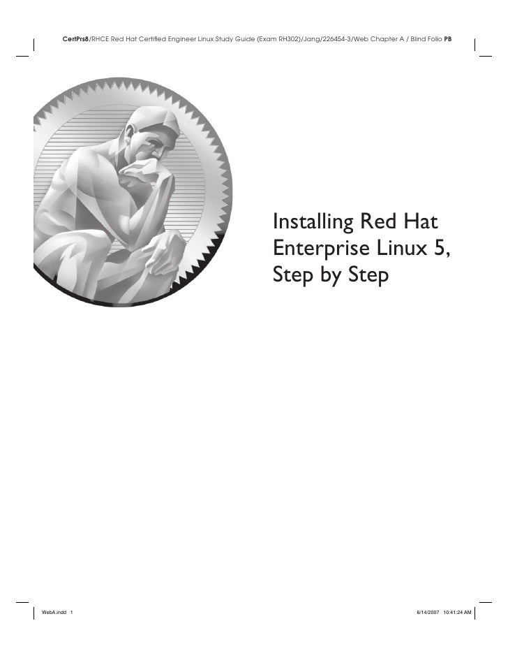 Installing Red Hat Enterprise Linux 5, Step by Step