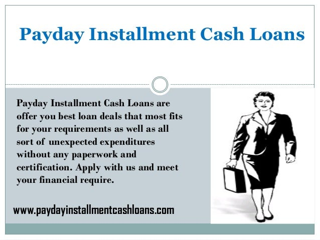 Installment Loans You Can Rely On!