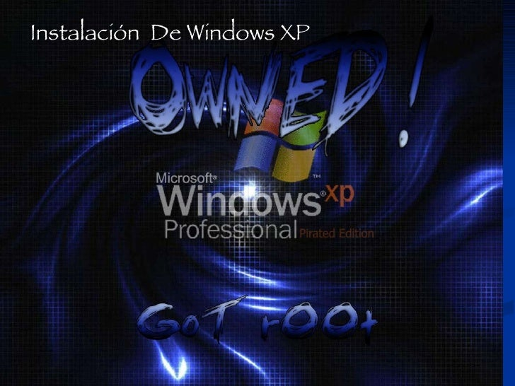 Instalación de Windows Xp Paso a Paso