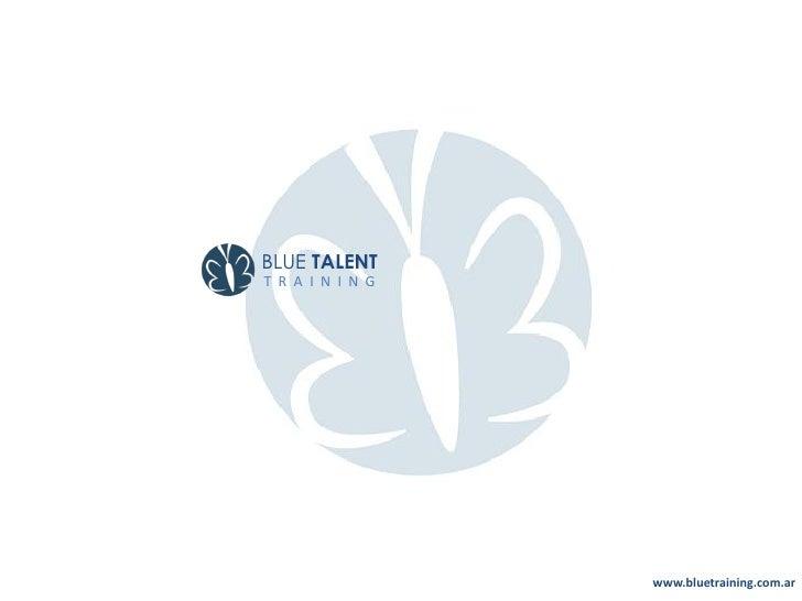 Institucional   Blue Talent